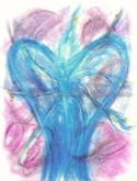 Angel of All is Well pastel painting