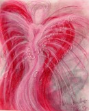 Angel of Recovery pastel painting