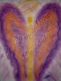 Angel of Life Purpose pastel painting