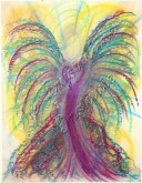 Angel of Health pastel painting