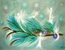 "Wisdom of the Angels - Visionary communicator, ""inner Child"", ""eliminate stress"" angel art"
