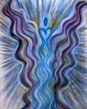 "Wisdom of the Angels - ""levels of consciousness"", ""vibrational scale"", transmute, emotions angel art"