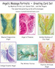 Wisdom of the Angels - Angel Art note card set