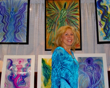 Lori Daniel Falk and the angels