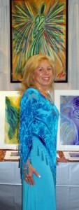 Wisdom of the Angels - Lori Daniel Falk Angel Artist Brings Hope