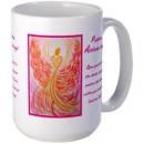 Wisdom of the Angels - angel art mug