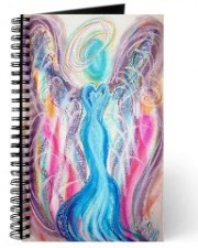 Wisdom of the Angels - divine union angel art journal