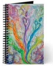 Wisdom of the Angels - lightworker angel art journal