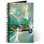 Winter Fairies Angel Art Journal