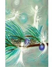 Winter Fairy Angel Art Journal