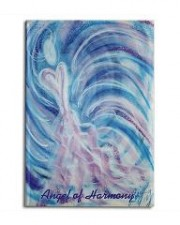 Wisdom of the Angels - angel art magnet