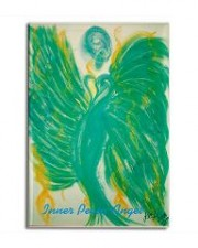 angel of inner peace art magnet