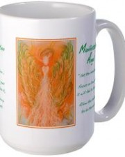 angel of manifestation art mug