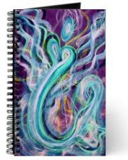Wisdom of the Angels - angel of the sea art journal