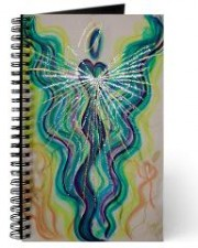 Wisdom of the Angels - angel art journal