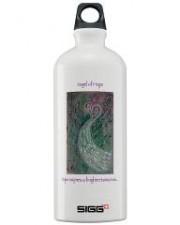 Wisdom of the Angels - angel art water bottle