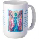 angels, angel art mug