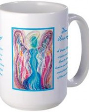 divine union angel mug