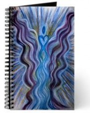 Golden One Angel Art of Abundance Journal