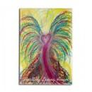 Wisdom of the Angels - angel art magnet