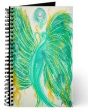 Wisdom of the Angels - inner peace angel art journal, Angel Gifts, Angelic Art, angels, Art, attraction, compassion, connection, emotions, healing art, Love, New age gifts, passion, romance, spirituality, Visionary Art