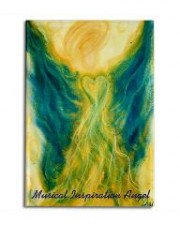 Wisdom of the Angels - angel art magnet, activation, Angel Gifts, Angelic Art, angels, Art, ascension, connection, divine guidance, emotions, Healing, healing art, inspiration, music, New age gifts, raising vibrational frequency, spirituality, Visionary Art
