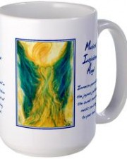 musical inspiration angel art mug