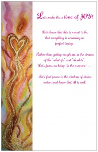 Wisdom of the Angels - angel cart card, Hospice, illness, love, death, dying, cancer