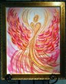 Wisdom of the Angels -positive attitude angel art