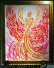 Wisdom of the Angels -positive attitude angel art