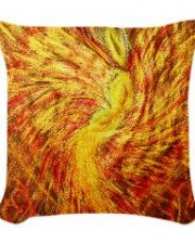 Wisdom of the Angels - Angel of Healing woven pillow