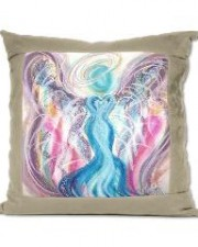 angels, angel art pillow