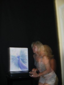 Wisdom of the Angels - Lori Daniel Falk angel art