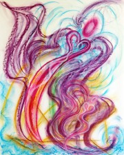 Wisdom of the Angels - Forgiveness Angel art