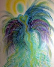Bird of Paradise Angel
