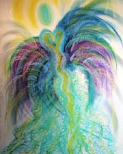 Wisdom of the Angels - Bird of Paradise Angel