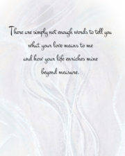 You are the light of my world card-2